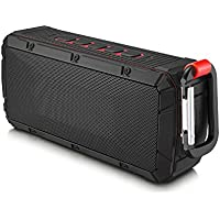 IPX6 Waterproof Portable Wireless Outdoor Bluetooth Speaker Dual 10W Driversf By Lerdy, Enhanced Bass, Built in Mic