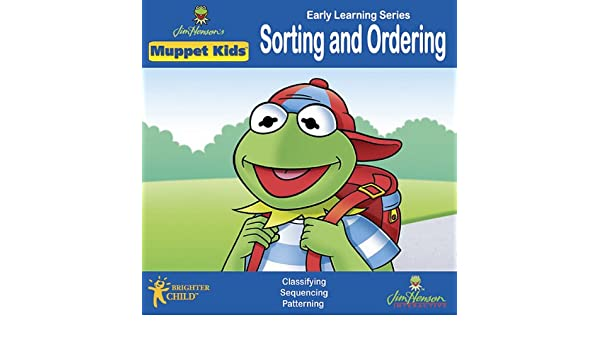 Amazon.com: JIM HENSON: Muppets Sorting & Ordering (Ages 3-7 ...