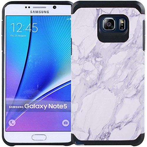 Slim Shockproof Case for Samsung Galaxy Note 5 N920 (White) - 6