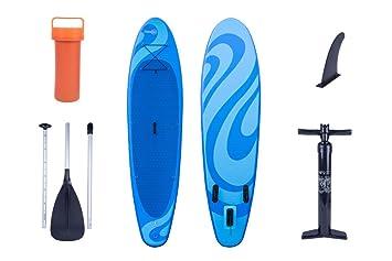 OceanFun Sup Wave Stand Up Paddle Board Set con Bomba de Alta Presión Funda Remo Hinchable y Accesorios 300 x 76 x 10 cm Tabla de Surf: Amazon.es: Deportes ...