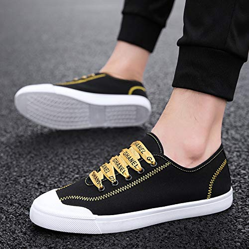 Trend NANXIEHO Fashion Student Men's Cloth Shoes Canvas Shoes Shoes Men Trend Shoes Leisure qgrqYA