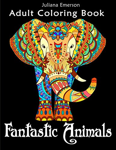 Download Fantastic Animals Adult Coloring Book PDF