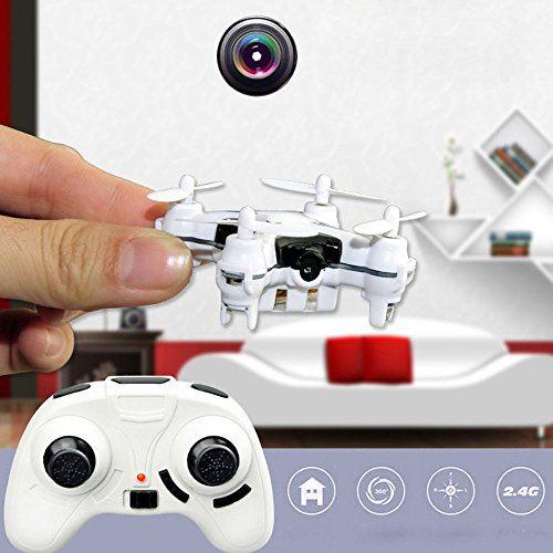 ABCsell 506 2.4G 4CH 6-Axis Mini RC Quadcopter Small Drone Helicopter with 3.0MP Camera