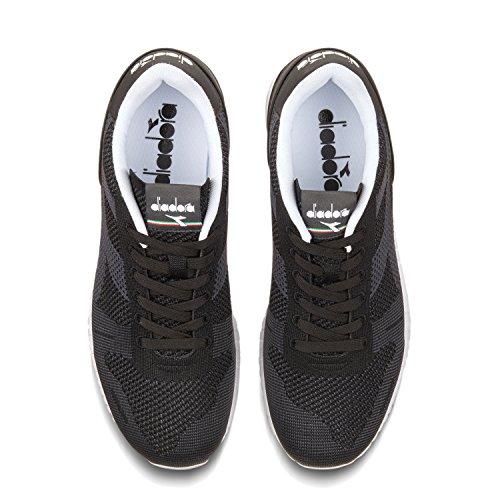 NOIR Diadora Sneaker Adulte 80013 Weave Basses Titan Mixte xrrEw0qa7