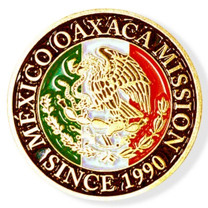 LDS México Oaxaca Mission Commemorative Lapel ()