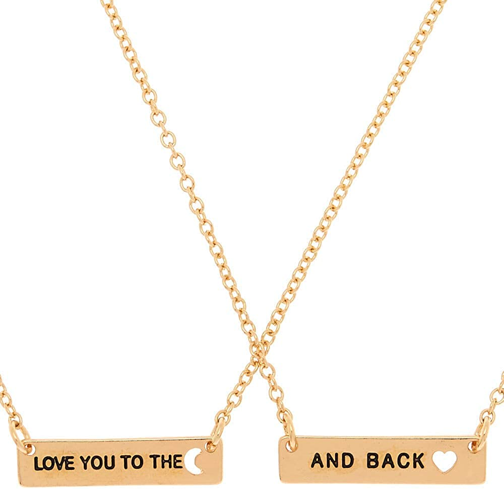 Various Styles Claires Matching Best Friend Necklaces