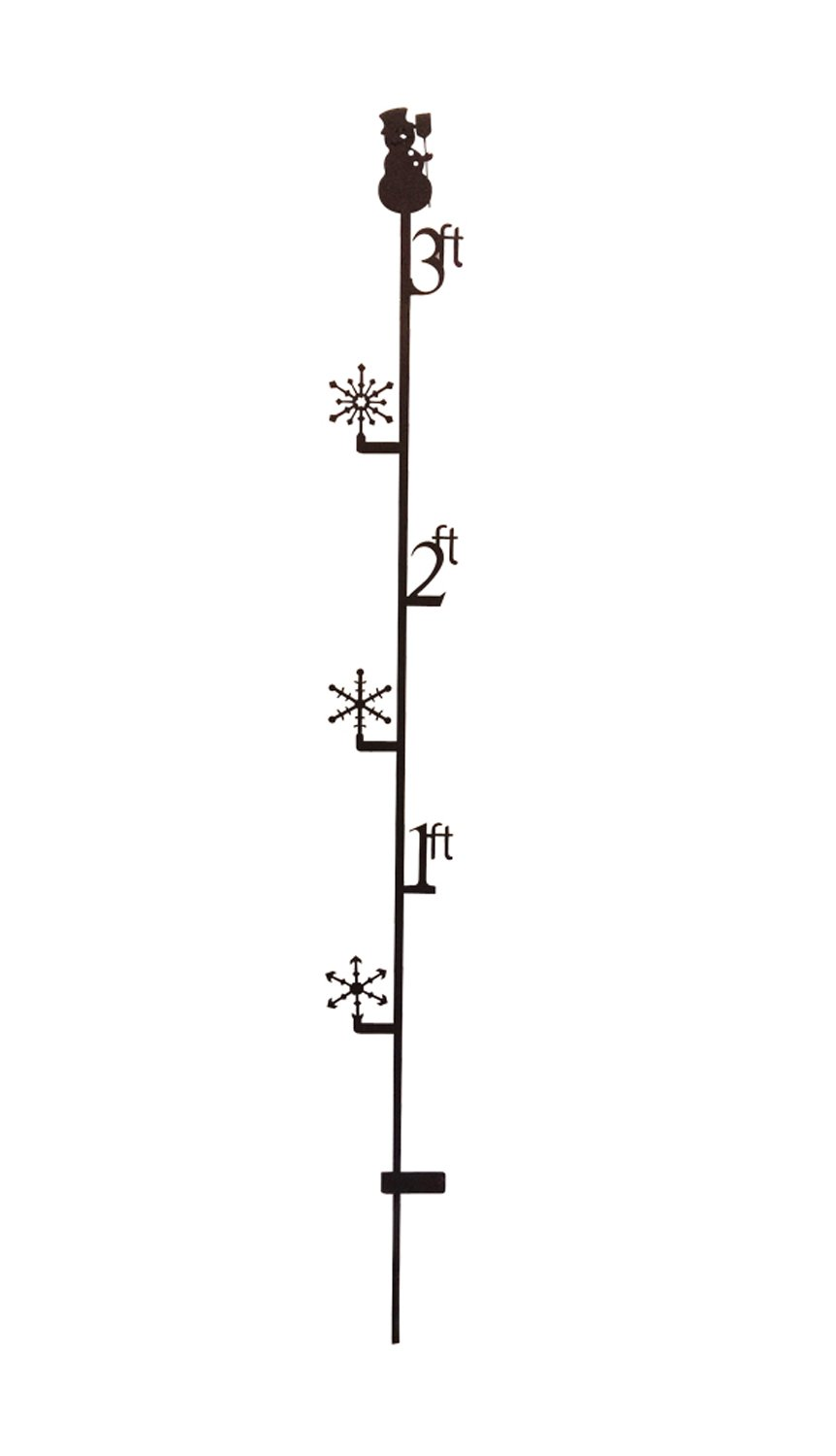 51 Inch 3 Foot Snowman Snow Gauge