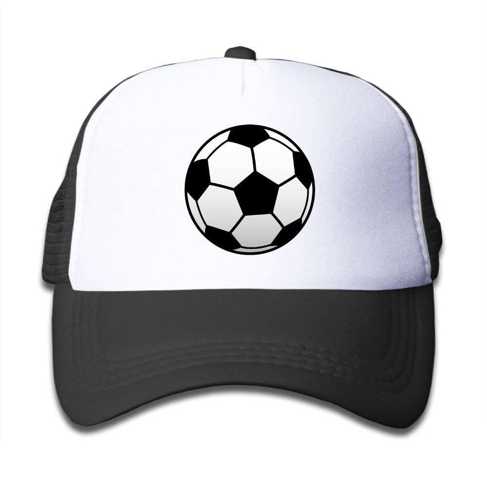 NO4LRM Kids Boys Girls Soccer Football Sport Youth Mesh Baseball Cap Summer Adjustable Trucker Hat