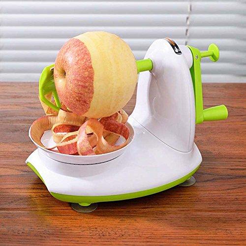 GONGFF Manual Apple Peeling Machine, Fruit Knife Peeler Automatic Peeling Machine, Multifunctional Apple Cutting (Apple Peeling Machine)