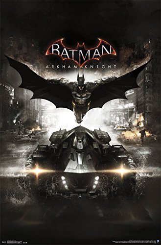 - Trends International Arkham Knight Cover Wall Poster 22.375