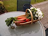 Greenkey Garden & Home 773 Trug, Wooden, Medium