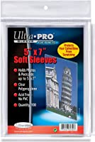 Ultra Pro 5 X 7 in. Protective Sleeve, 100 Sleeves