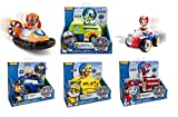 Case Set Paw Patrol 6 Pack Playsets Zuma's Hovercraft Rocky's Recycling Truck Ryder's Rescue ATV Chase's Cruiser Rubble's Bulldozer Marshall's Fire Fightin' Truck