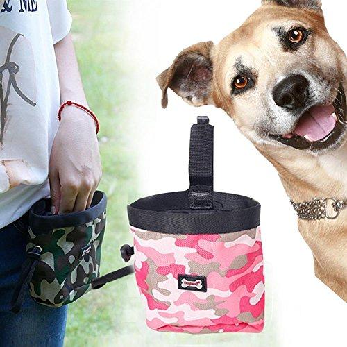 CHINA UK Hunde-PVC-Beutel Snack-Tarnung Outdoor-Haustier-Trainings-Tasche Aussen-Taschen Professionelle Hundetraining Snack Nette Müllsäcke Training Rosa zz8iFR