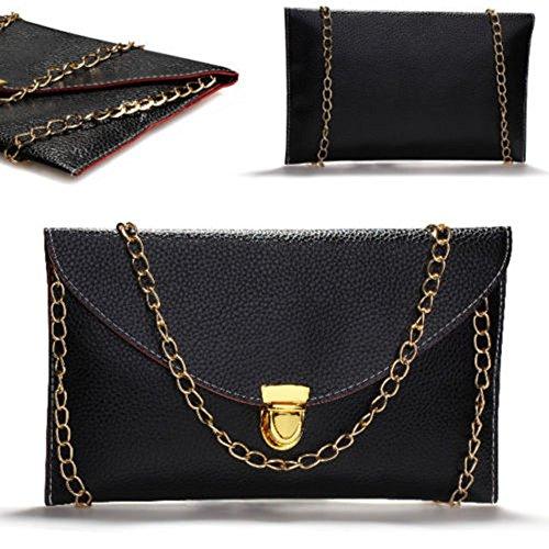 Handbag New Peacock Gold Shoulder Envelope Women sf black Blue Chain Evening with Clutch world 0PnwgT6