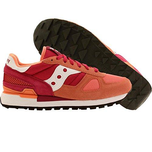 Saucony Originals Women's Shadow Original - Sushi Pack  Pink/Red Sneaker 9 B - Medium
