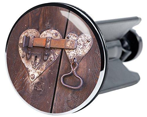 Waschbeckenstöpsel Türschloss, passend für alle handelsüblichen Waschbecken, hochwertige Qualität ✶✶✶✶✶ hochwertige Qualität ✶✶✶✶✶ Sanilo