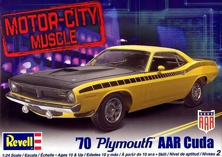 Revell 1:24 '70 Plymouth AAR Cuda