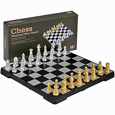 "Dragonpad Travel Magnetic Chess Mini-Set - 6.3"""