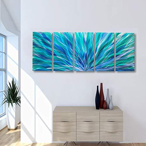 Buy metal abstract wall decor xl