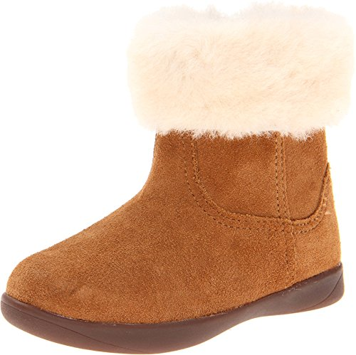 UGG Australia Girls Jorie II Suede Boot Chestnut Toddler Siz