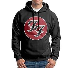 SARAH Men's Foo Fighters Band Logo Hoodie