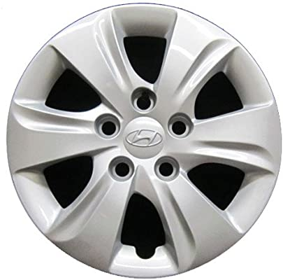 Amazon.com: OEM Genuine Hyundai Wheel Cover - Professionally Refinished Like New - 15in Replacement Hubcap Fits 2012-2016 Elantra: Automotive