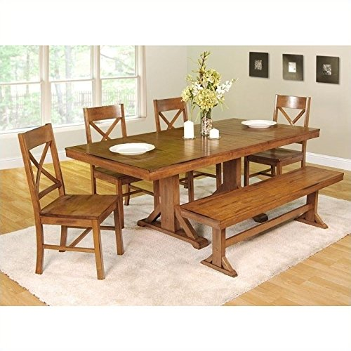 Wood Antique Dining Table - 3