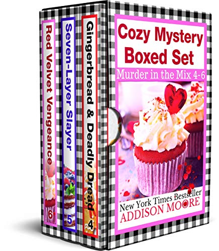 Murder in the Mix Books 4-6 (Murder in the Mix Boxed Set Book 2)