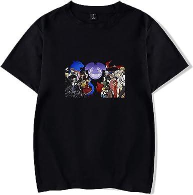 Unisex Anime Impreso T-Shirts Osamu Dazai Manga Corta ...
