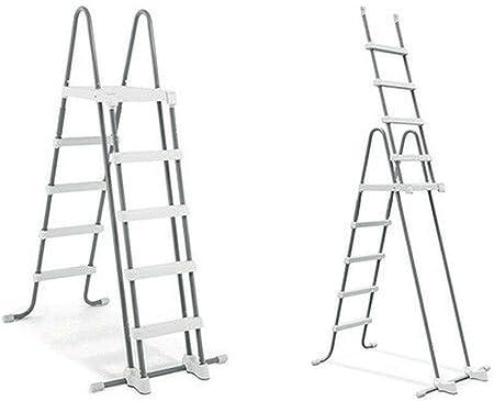 Intex #28077 Escalera para Piscina + escalones extraíbles para ...