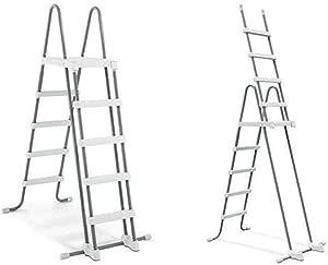 Intex #28077 Escalera para Piscina + escalones extraíbles para Alturas de Pared de 52 Pulgadas: Amazon.es: Productos para mascotas