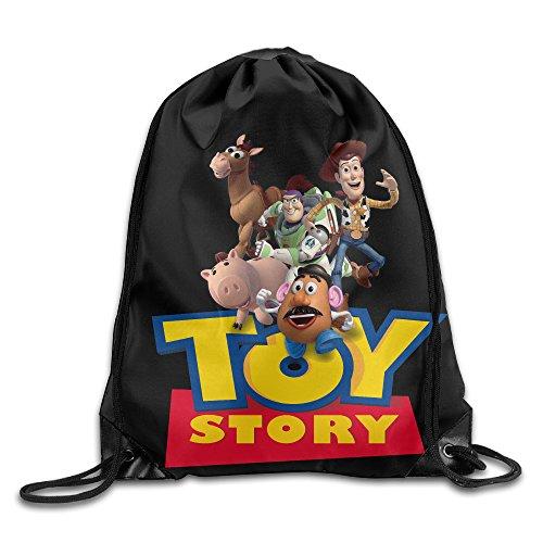 (Toy Story Nylon Drawstring Bag Home Travel Sport)