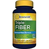 Erneuern Life - Triple Fiber - dietary fiber - constipation relief - 150 vegetable capsules