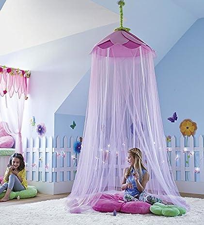Secret Garden Hideaway Bed Canopy Hanging Play Tent For Kids Bedroom 7 H With