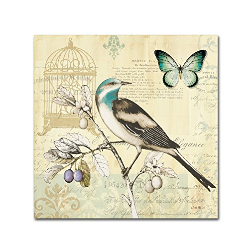 Birdcage Canvas - Freedom II Wall Decor by Lisa Audit, 14