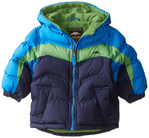 - Pacific Trail Baby Boys' Color Blocked Puffer Jacket, Navy, 24 Months