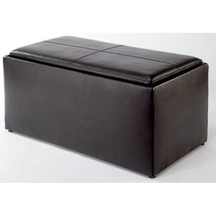 Fine Amazon Com Paris Storage Ottoman Bench With 2 Seat Cubes Bralicious Painted Fabric Chair Ideas Braliciousco
