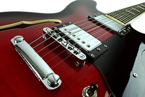 Guitarra eléctrica semihueca de 6 cuerdas directamente barata ...