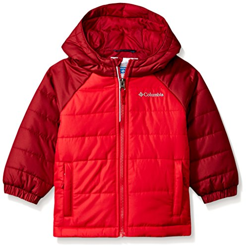 Columbia Toddler Boys' Tree Time Puffer Jacket, Mountain Red, Beet, - Jacket Mountain Light Boys