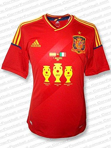 adidas - ESPAÑA 1ª Camiseta Campeon EURO12 Hombre Color ...