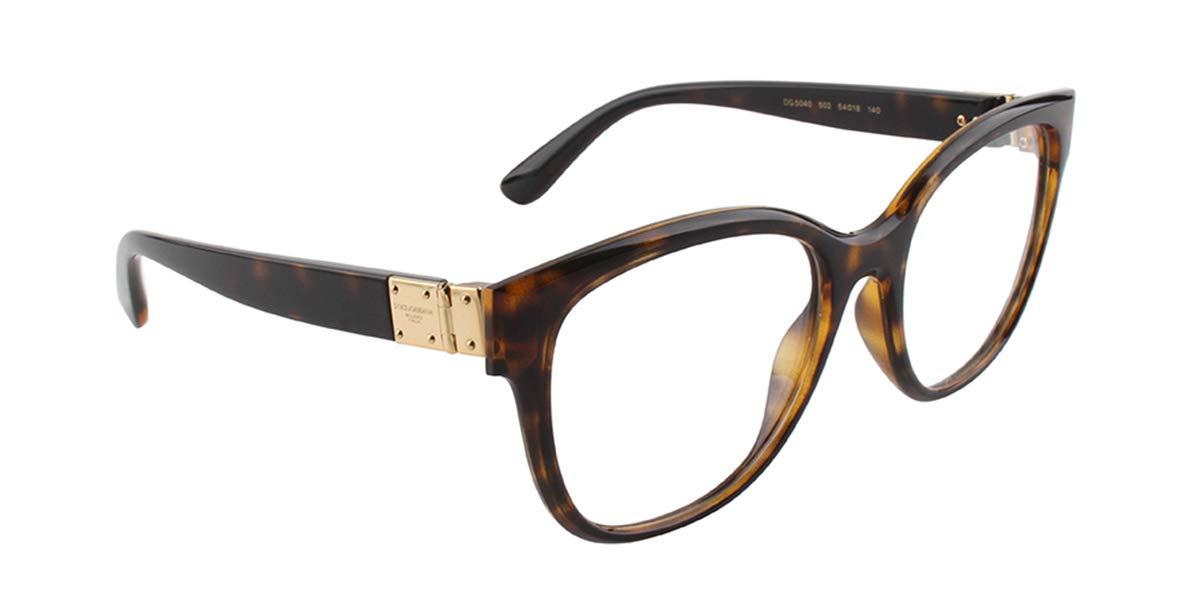 de7e034dae3 Dolce Gabbana DG5040 Eyeglass Frames 502-54 - Havana DG5040-502-54