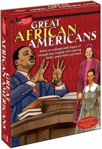 Great African Americans Discovery Kit (Dover Fun Kits) (Fun Kits Dover)