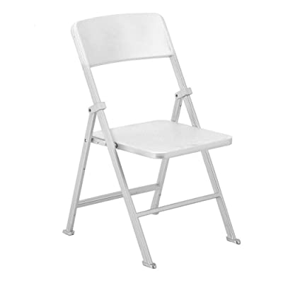 Qii lu Dolls Folding Chair,Silver 1/6 Scale Dollhouse Miniature Furniture Folding Chair for Dolls Action Figure (Sliver): Toys & Games [5Bkhe0502901]