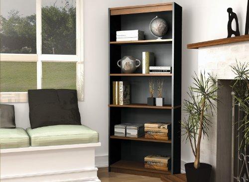 Bestar Innova bookcase in Tuscany Brown & Black Review