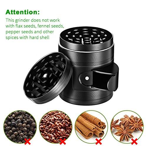 Was Ist Ein Grinder : omorc herb and spice kitchen grinder with pollen catcher 4 piece 2 heavy duty anodized ~ A.2002-acura-tl-radio.info Haus und Dekorationen