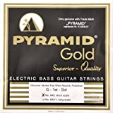 Pyramid Gold Flatwound Short Scale Bass Guitar