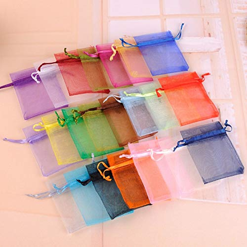 Amazon.com: GOP Store Small Jewelry Pouch 100pcs/lot 7x9cm ...
