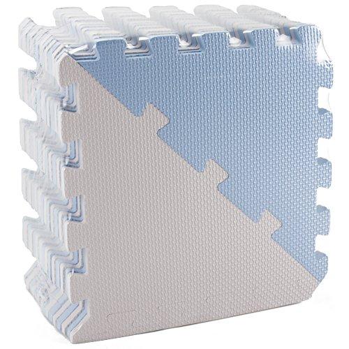 Chevron Play Tiles Kids Foam Puzzle Mats Soft Eva