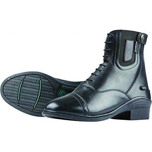 Dublin Evolution Lace Front Paddock Boots - Brown Black tekl0lMTCG